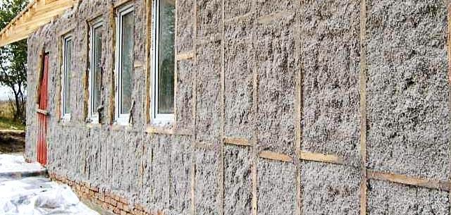 Теплоизоляция домов различными материалами
